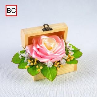 Ruža zo saténovej stuhy