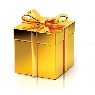 Gold mystery box STREDNÝ